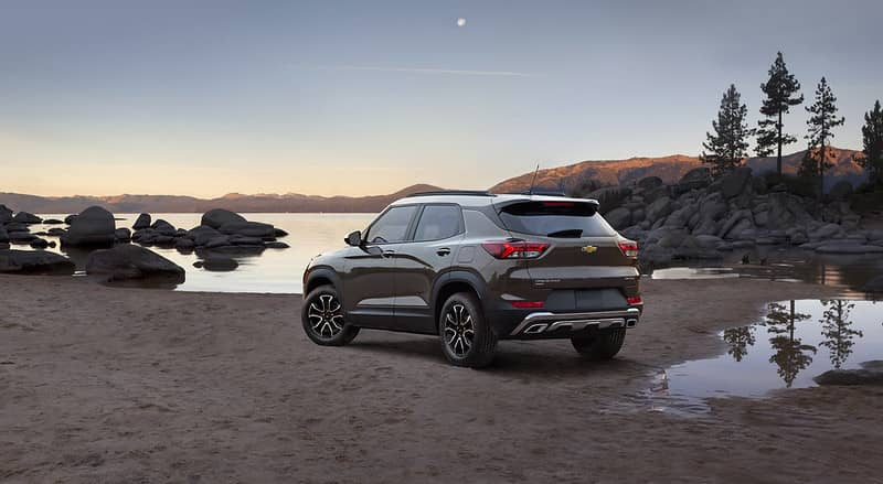 The Chevy Trailblazer Is One of Year's Best Vehicles for Camping | West Harrison, IN
